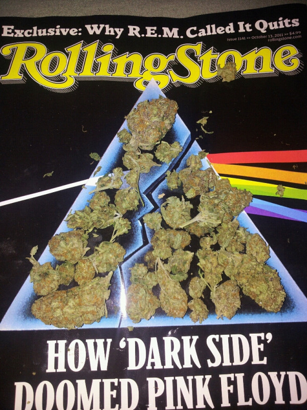 how dark side doomed pink floyd but WEED did NOT