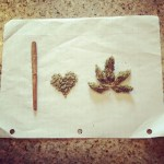 i heart LOVE WEED marijuana and blunts