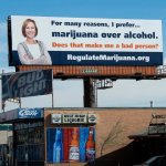 colorado pro marijuana billboard sign