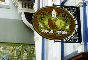San Francisco's Vapor Room Medical Marijuana Dispensary