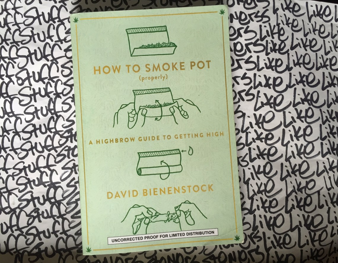 How To Smoke Pot Properly Book