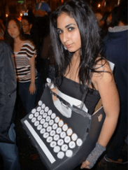 Typewriter-costume