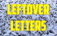 Leftover Letters