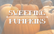 Sweeping Pumpkins