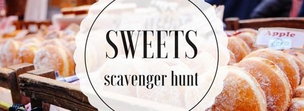 Sweets Scavenger Hunt