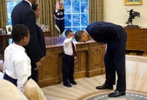 Barack Obama adore les enfants