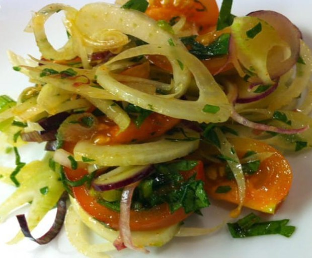 Fennel Tomato Salad | stupideasypaleo.com