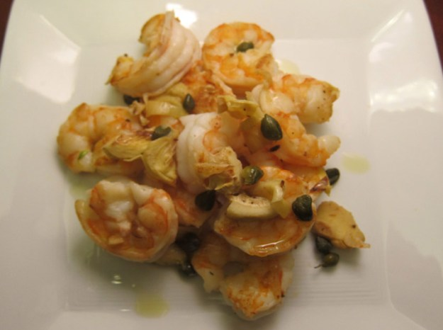 Shrimp with Garlic and Artichokes | stupideasypaleo.com