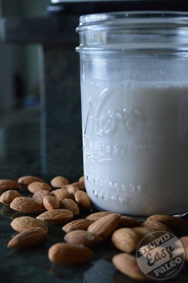 Homemade Almond Milk | stupideasypaleo.com