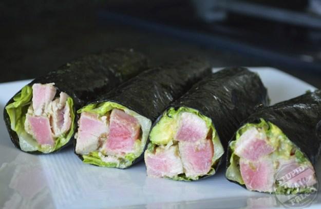 Ahi Tuna Salad Wraps | stupideasypaleo.com