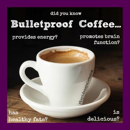 Bulletproof® Coffee | stupideasypaleo.com