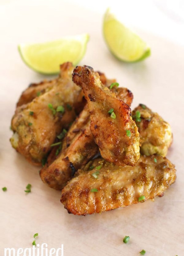 Jalapeño-Lime Chicken Wings | stupideasypaleo.com