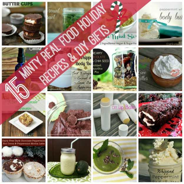 Mint Holiday Recipes: 15 Minty Treats and DIY Gifts