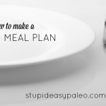 Paleo Meal Planning: A How-To | stupideasypaleo.com