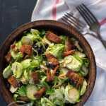 Paleo Brussels, Blueberry & Bacon Salad | stupideasypaleo.com