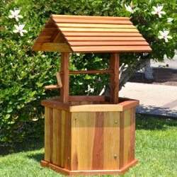 Wooden Wedding Wishing Well to Buy Landscape Design