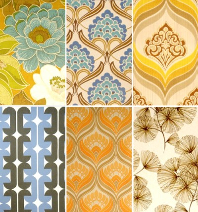 Vintage wallpaper | THE STYLE FILES