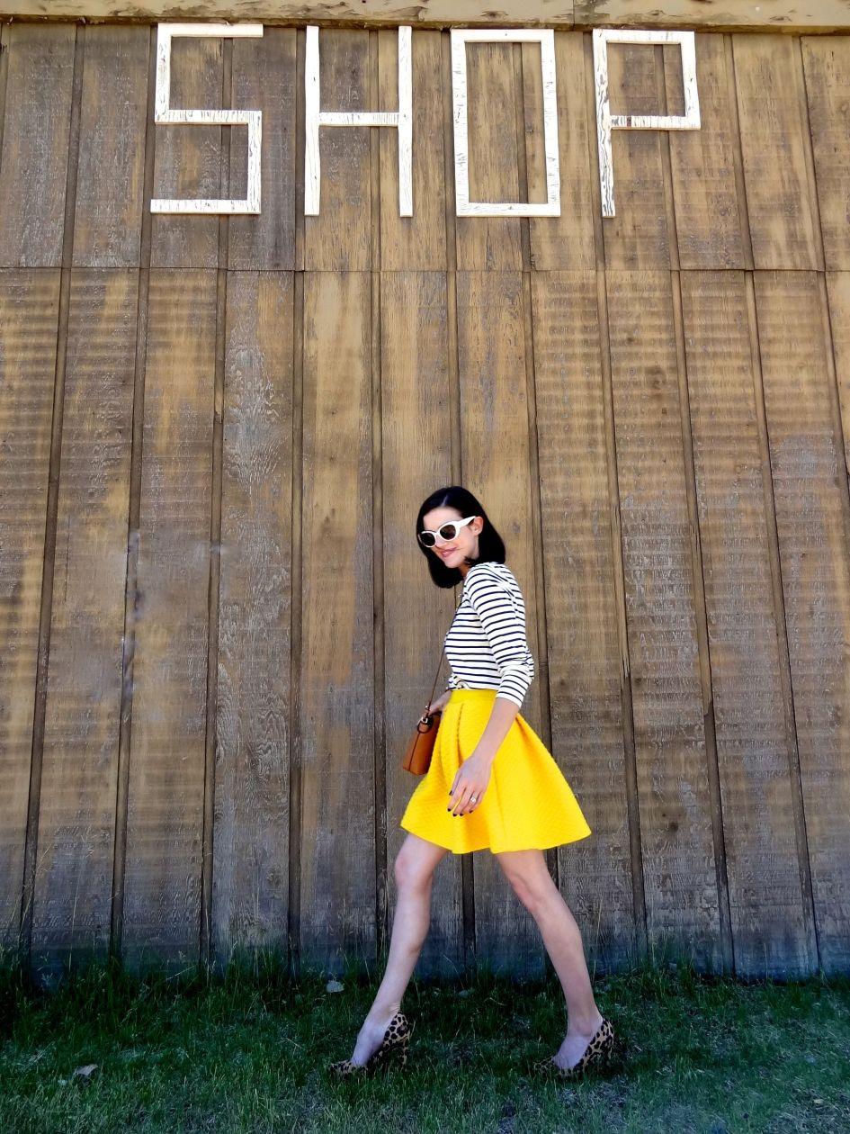 Yellow Skirt 7a