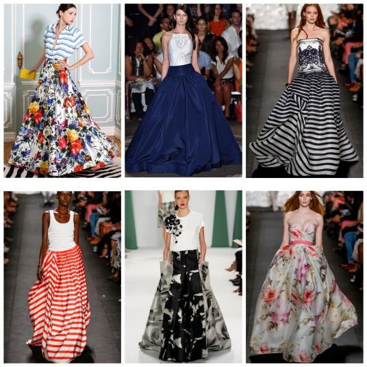 Ball Gown Skirt NYFW SS15