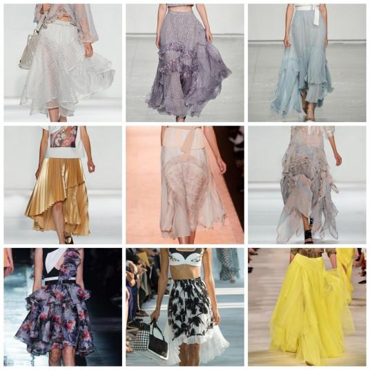 Layered Skirt NYFW SS15