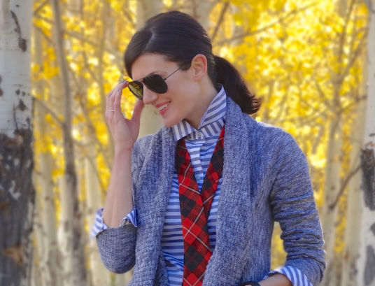 Sweater + Tie 3b