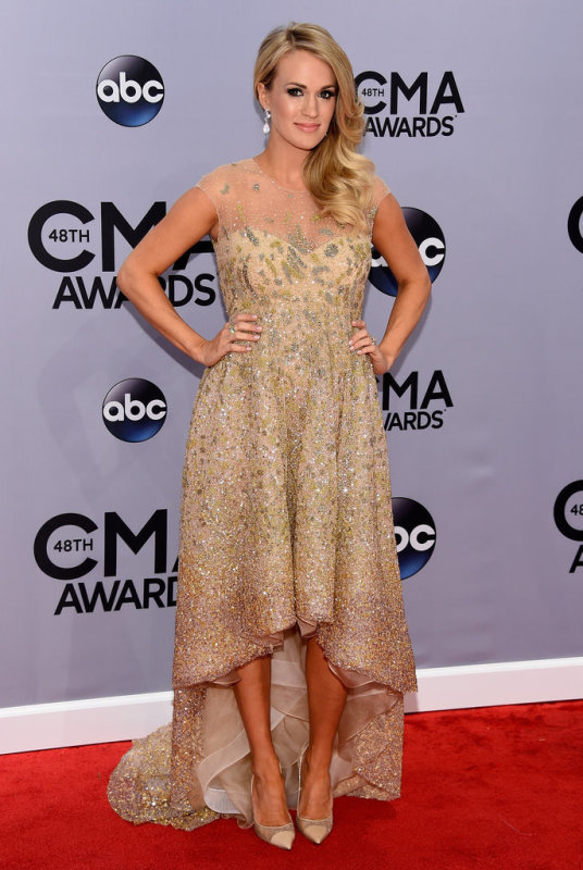 Carrie Underwood CMA popsugar 4
