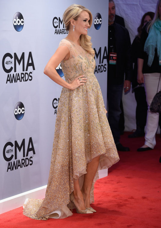 Carrie Underwood CMA popsugar 6