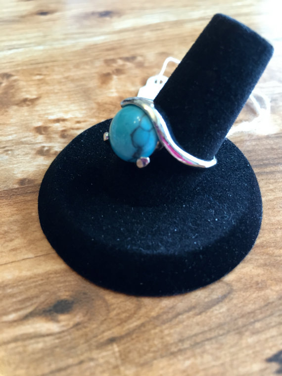 turquoise ring 14