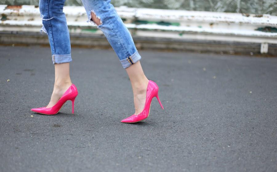 Blazer + Pink Shoes 7b