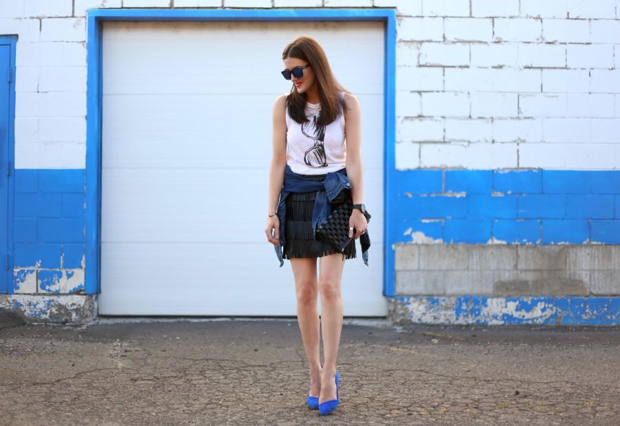 Fringe Skirt 1a