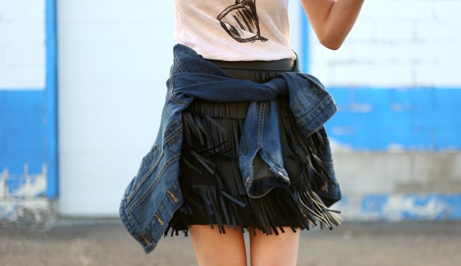 Fringe Skirt 5a