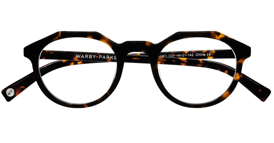Warby-Parker_Maynard_Whiskey-Tortoise_eyeglasses_topdown