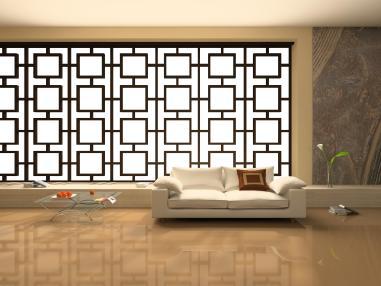 אין ספק שהושקע מאמץ רב על עיצוב הקיר כך שכמעט כל ריהוט יראה לא פחות ממושלם.