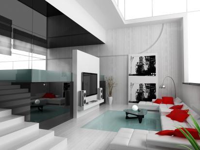 בית מעוצב בעיצוב צעיר ודינמי.