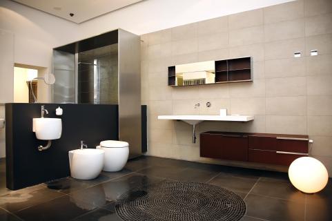 עוד דוגמה מדהימה להשפעת התאורה והצבעים בעיצוב חדרי הבית.