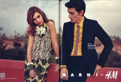 Marni at H&M First Ad Revealed!   Style Blog   Canadian ...
