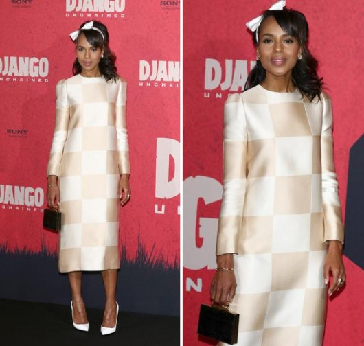 kerry-washington-louis-vuitton-dress-django-spring-2013