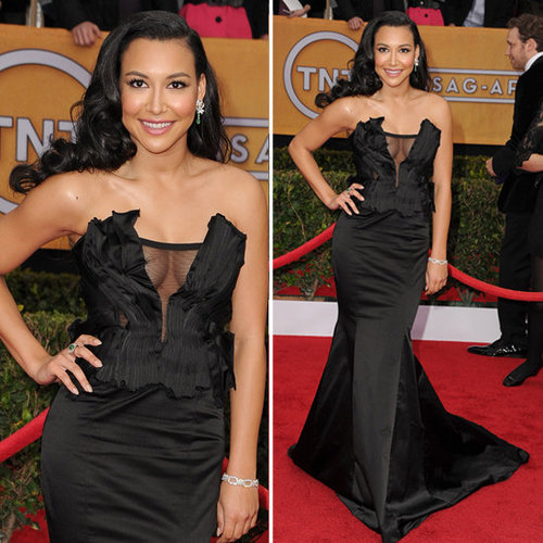 sag-awards-2013-naya-rivera-donna-karan-atelier