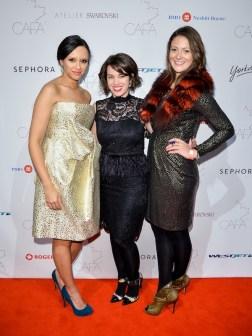 Canadian-Arts-Fashion-Awards-2014-ELLE-Canadas-Vanessa-Craft-Laura-deCarufel-and-Ally-Dean