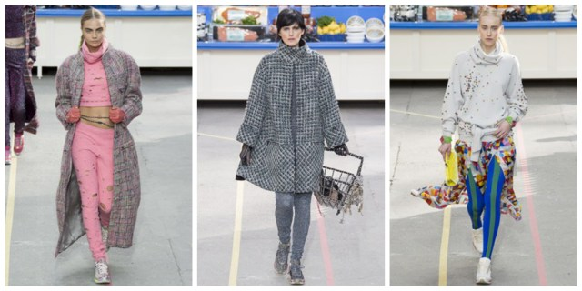 chanel sportswear fall2014 1024x512 Chanel Goes Normcore At Supermarket Themed Fall 2014 Show