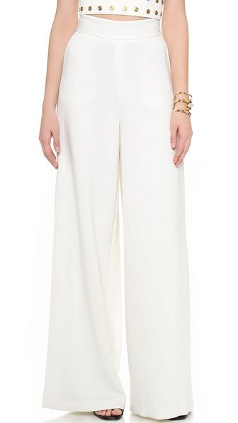 rachelzoe wide leg trousers Five Petite Wardrobe Myths, Debunked
