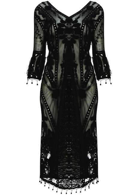 kate moss dress Kate Moss Brings Back Boho Glam in Latest Topshop Collaboration