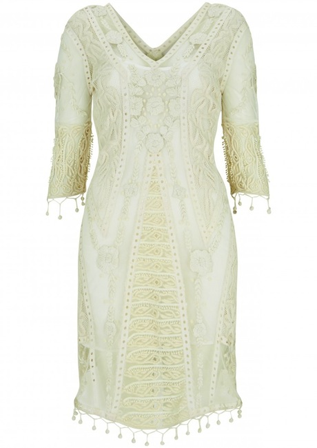 lace dress Kate Moss Brings Back Boho Glam in Latest Topshop Collaboration