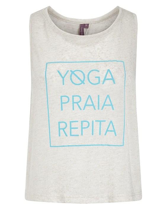yoga retreat tank