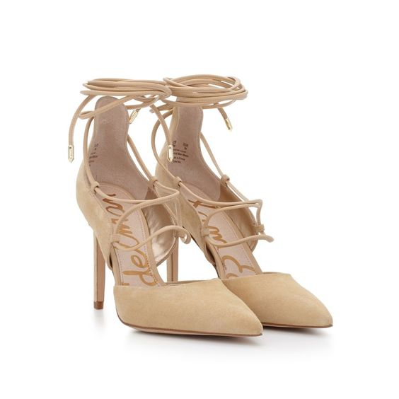 sam edelman lace-up pumps