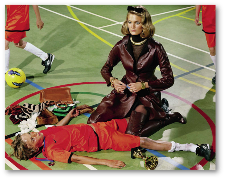 Miles Aldridge fashion editorial Photography