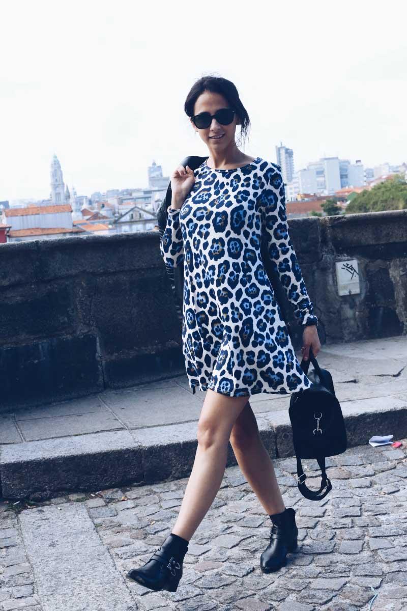 Oporto_Street_Style_Asos_Leopard_Smock_Dress