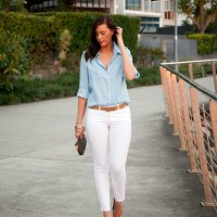 Style Sessions Blog Link Up - Chambray Shirt Outfit Idea