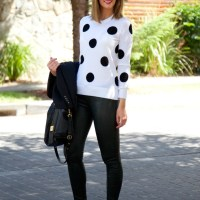 Style Sessions: My Most Pinned Outfit Ever - J Brand Leather Pants