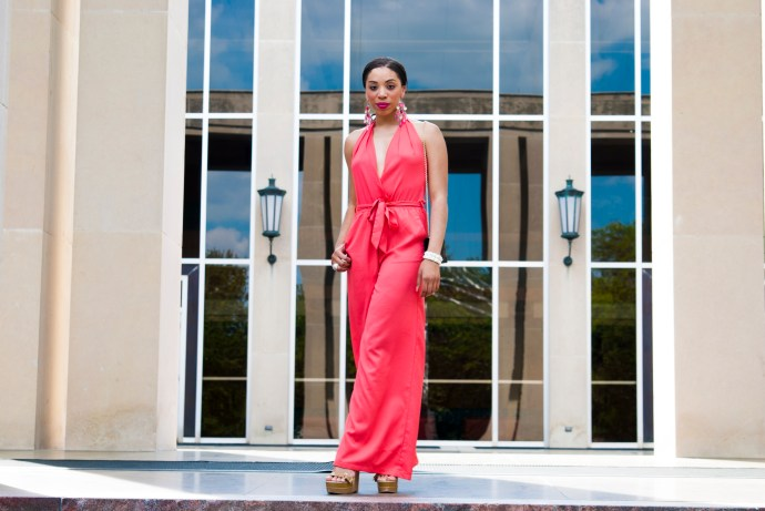style-me-twice-kaylah-burton-shop-akira-pink-jumpsuit-badgley-mischka-wedge-fendi-clutch-dallas-style-dallas-fashion-bloggers